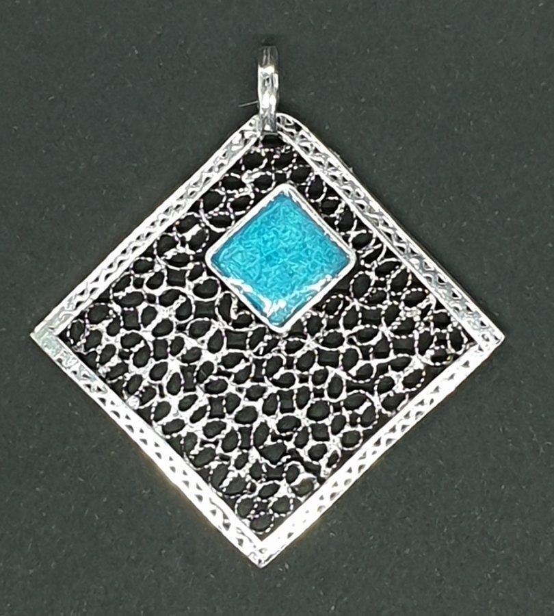Géométrie en bleu
