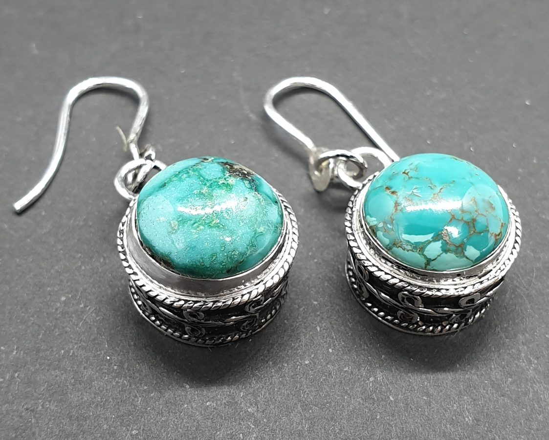 Turquoise ronde